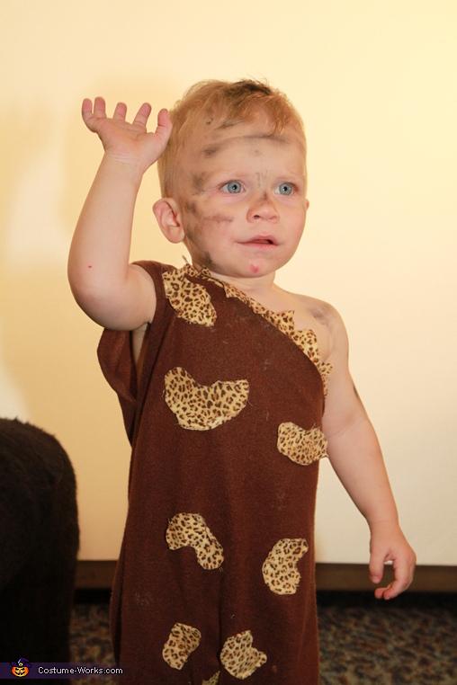 Hi, I Kyler, Cave Baby Costume