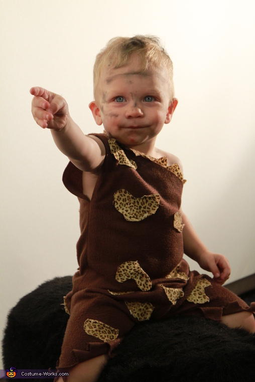 I see fire!, Cave Baby Costume