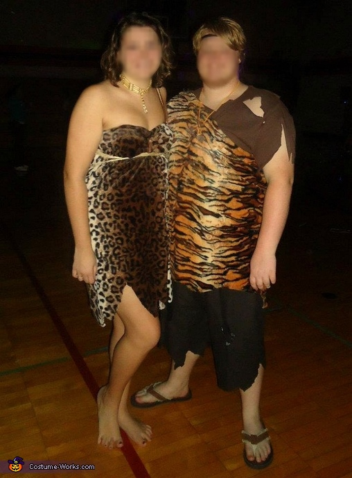 Caveman Couple Costume