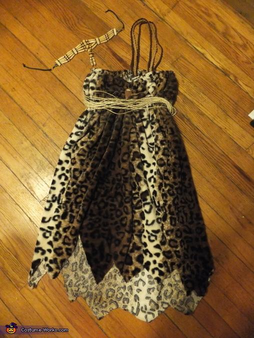 Woman's Dress , Caveman Couple Costume