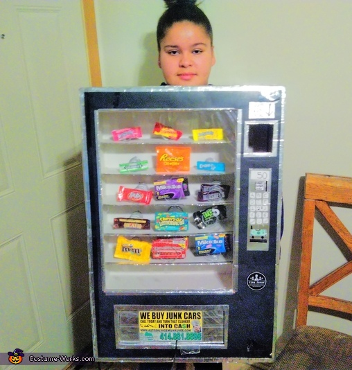 Cece's Vending Machine Costume