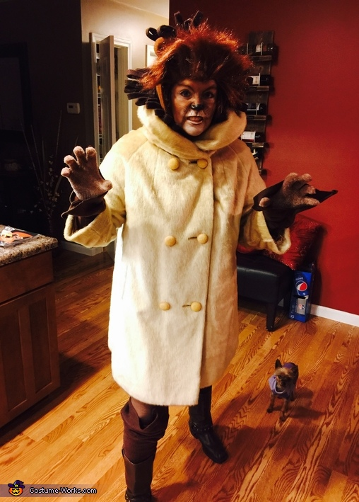 Dressed & No place to go, Cecil the Lion Costume