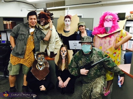 Cecil the Lion & The Hunter Costume