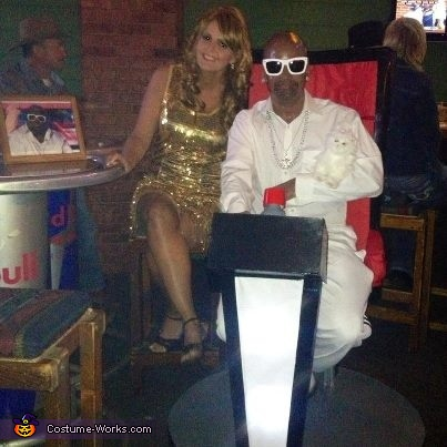 at the contest , Cee Lo Green Costume