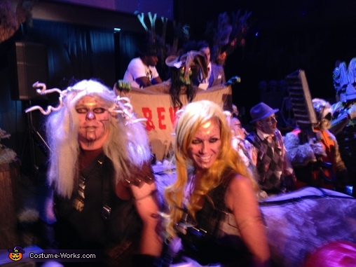 Party shot, Centaurs Costume