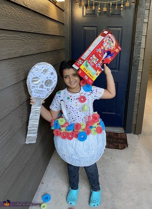 Cereal Bowl Homemade Costume