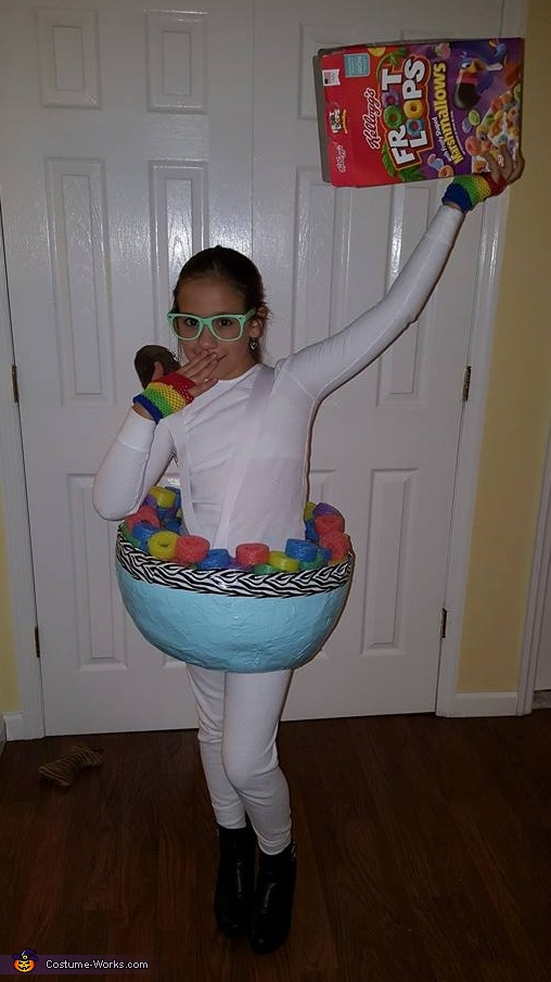 Cereal Bowl costume, Cereal Bowl Costume