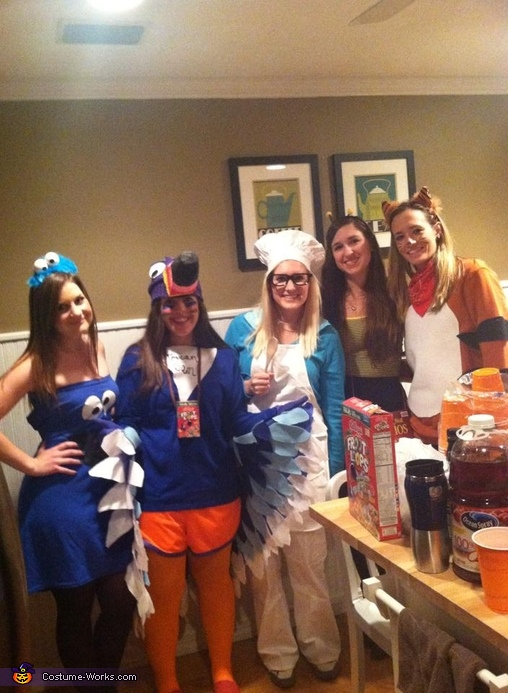 A few friends , Cereal Character Mascots Group Costume