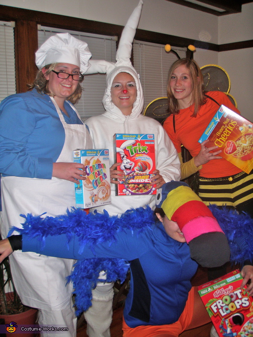Homemade Cereal Characters costume