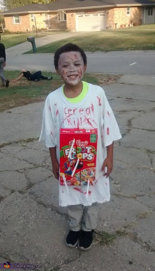Cereal Killer Halloween Costume Idea