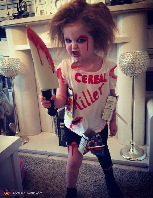 Say cheese, Cereal Killer Costume