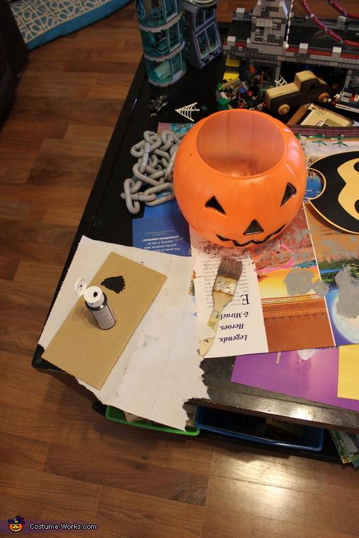 Pumpkin Base, Chain Chomp Dog's Costume