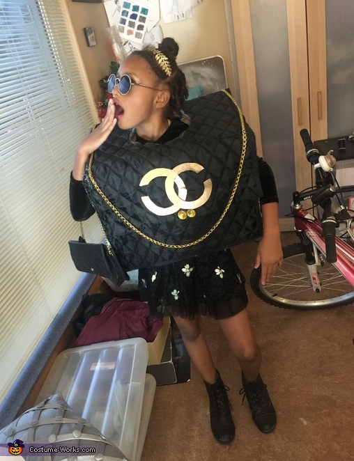 Chanel Mini Purse Costume
