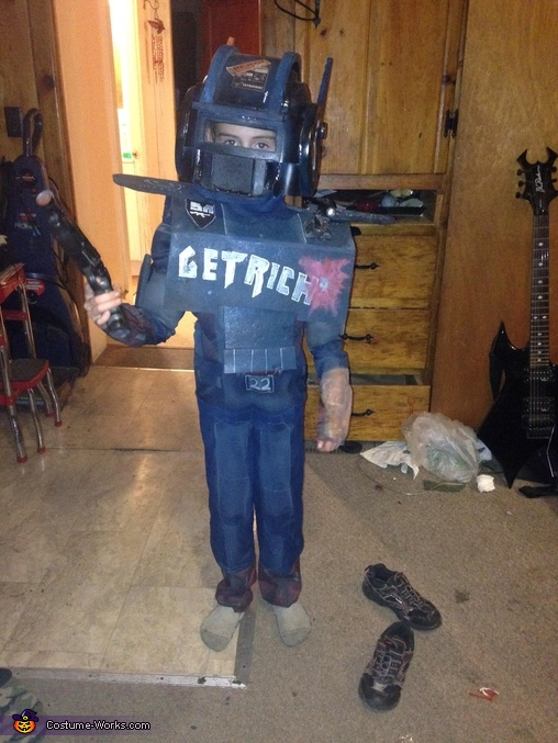 Homemade Boy Halloween Costumes Ideas