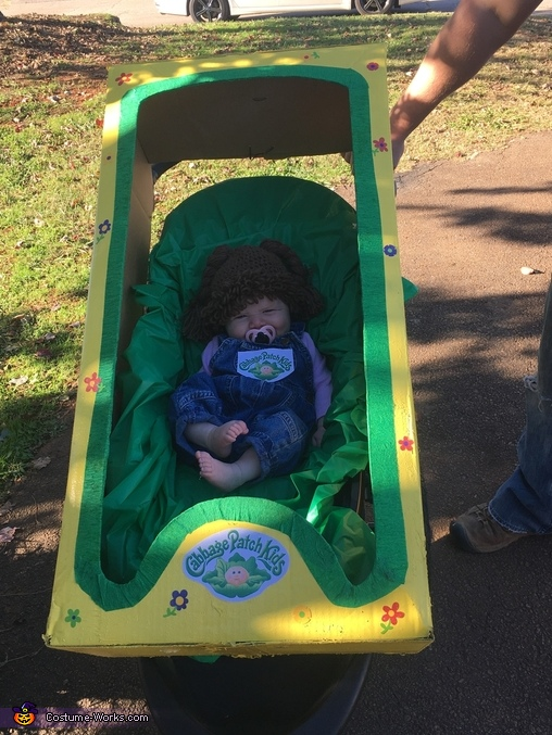 Charleigh the Cabbage Patch Baby Costume