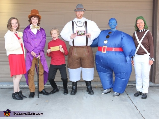 Charlie and the Chocolate Factory Characters Costume