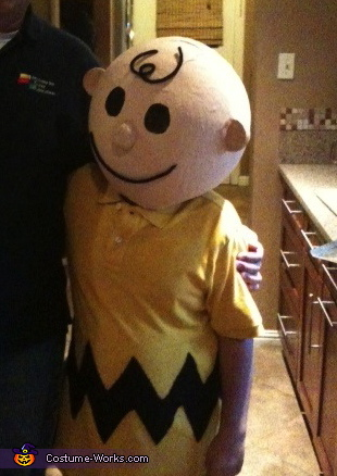 Charlie Brown - Homemade costumes for boys