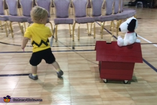 Charlie Brown and Snoopy Costume