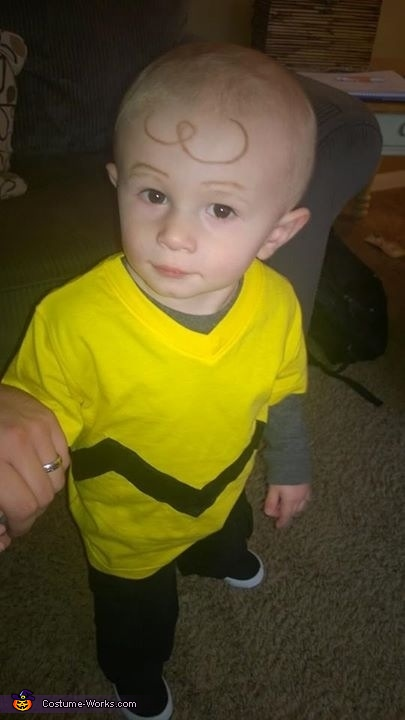 Charlie Brown Toddler Costume