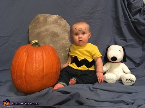 Charlie Brown Baby Homemade Costume