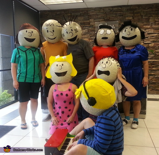 Charlie Brown Gang Costume