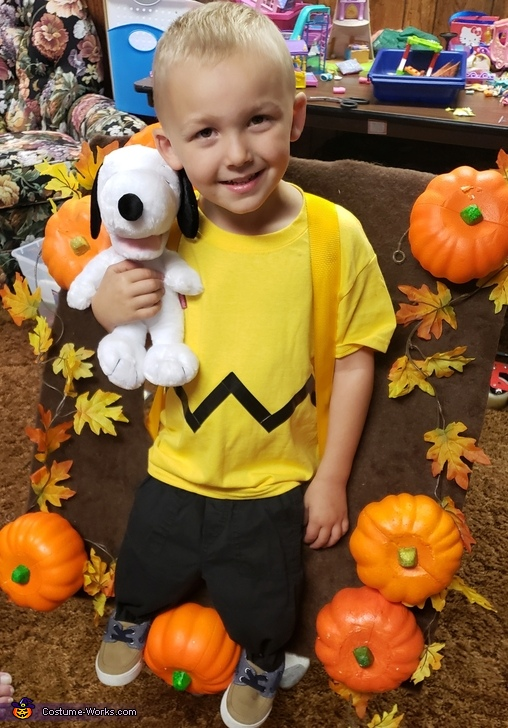 Charlie Brown, Charlie Brown searching for the Great Pumpkin Costume