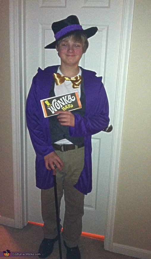 Willy Wonka, Charlie & The Chocolate Factory Costume