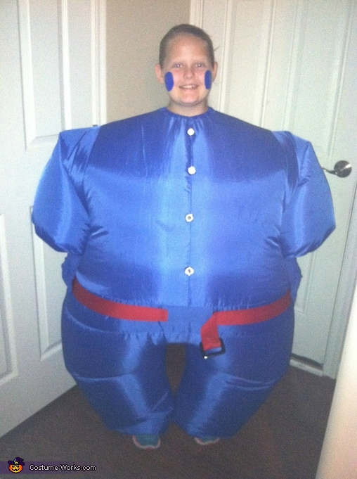 Violet Beauregarde, Charlie & The Chocolate Factory Costume