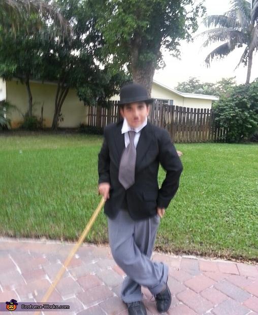 DIY Charlie Chaplin Costume