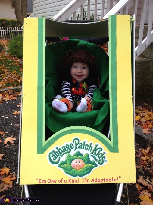 Charlotte the Cabbage Patch Costume