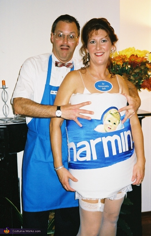 couples halloween costume idea charmin and mr whipple costume charmin mr whipple