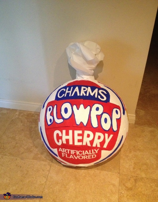 Top of Costume, Charms Blow Pops Costume