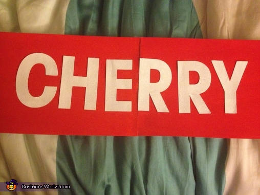 Cherry, Charms Blow Pops Costume
