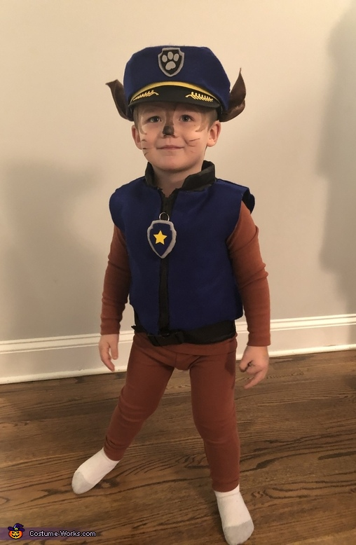 Chase is on the Case Costume