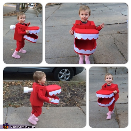Chattering Teeth Homemade Costume