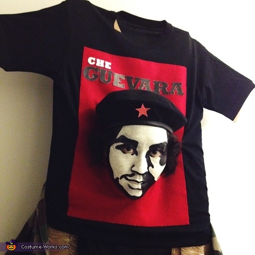 Che Guevara T-Shirt Homemade Costume
