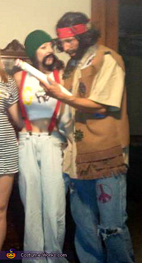 cheech and chong costume idea for couples