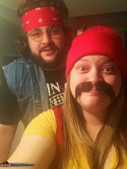 Selfie, Cheech and Chong Costume