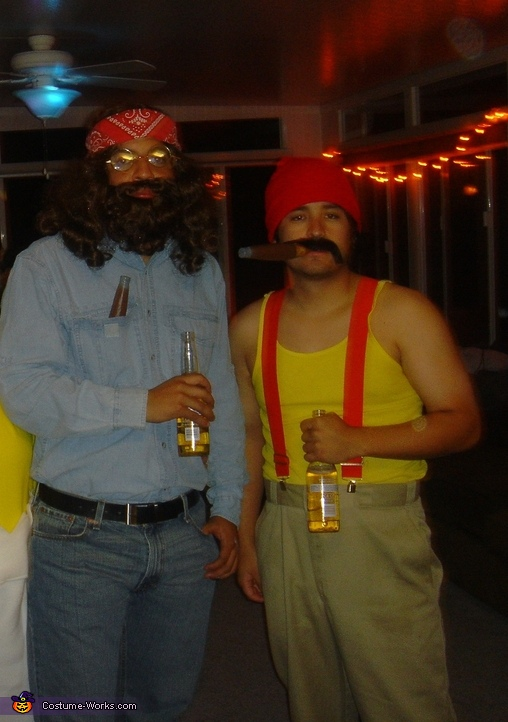 cheech and chong costume