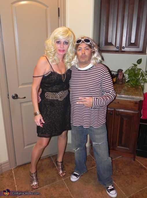 Curt Cobain & Courtney Love, Cheech & Chong Costume