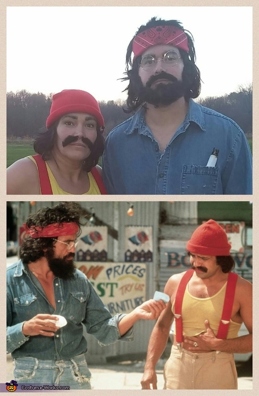Cheech & Chong Homemade Costume