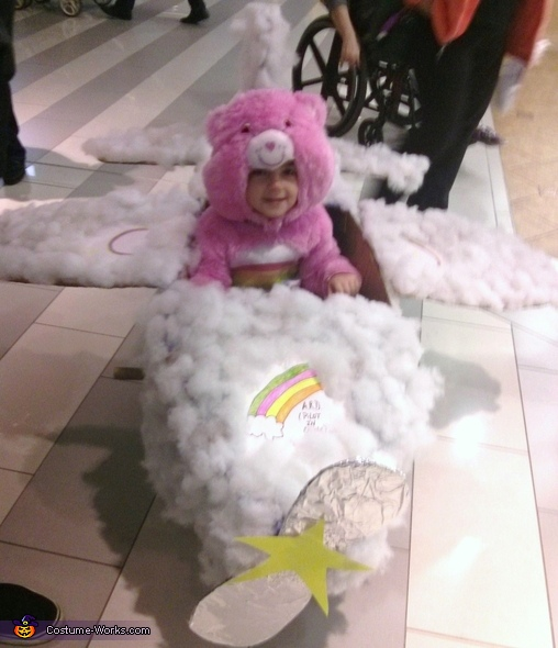 Cheer Bear in Cloud Plane Costume