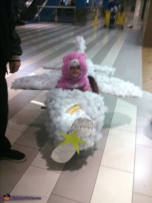 Cheer Bear in cloud plane, Cheer Bear in Cloud Plane Costume