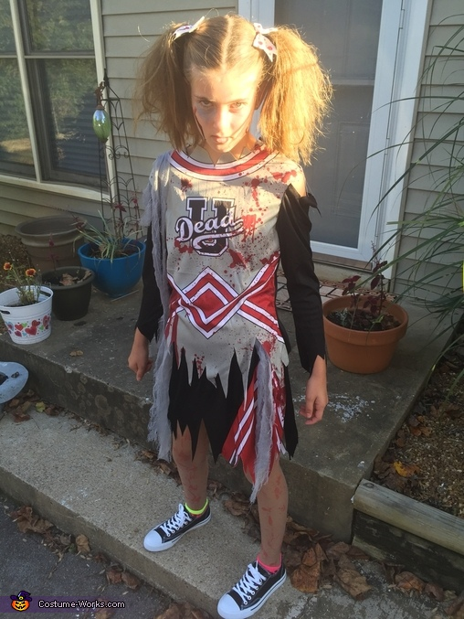 Cheerless Zombie Costume