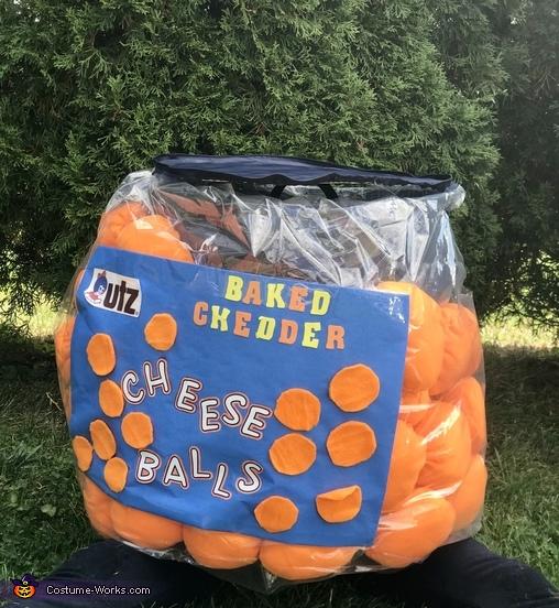 Cheese Balls Homemade Costume