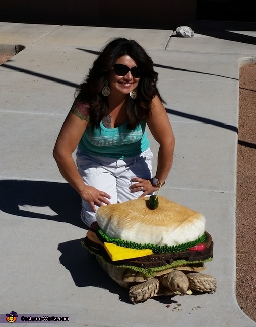 Cheeseburger Turtle Costume