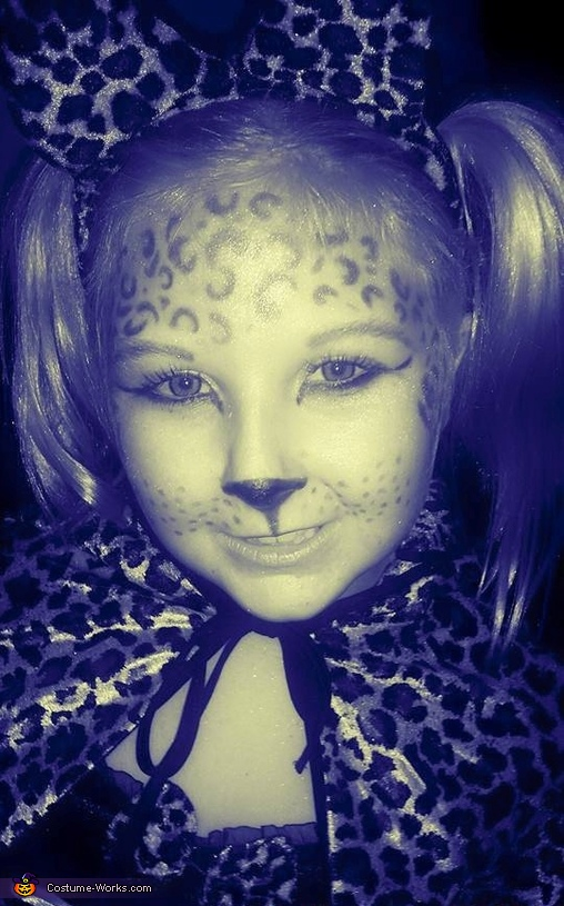 Cheeta Girl Homemade Costume