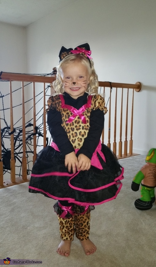 Cheetah Cuteness Costume