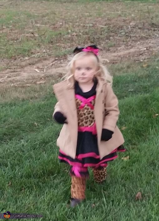 Cheetah Girl's Costume