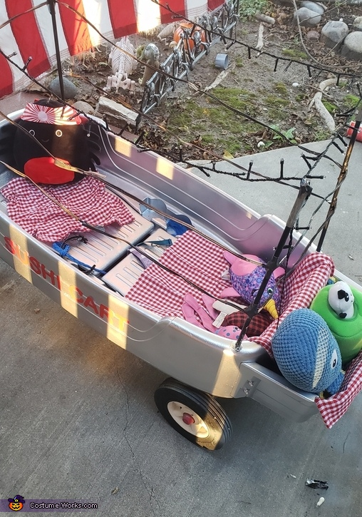 The Cart, Chef Cassidy & her Rolling Sushi Cart Costume